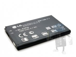 BL-42FN | Batteria LG P350 Optimus ME | C550 Optimus Chat | Originale