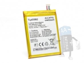 Batteria Alcatel One Touch Pop S7, TLp030B2