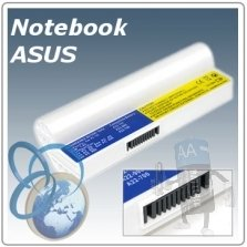 Batteria Notebook Asus WHITE Eee PC EeePC  / A22-700 / A22-P701 / 7BOAAQ040493 etc..