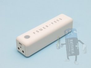Batteria esterna supplementare per Iphone, Ipad, Samsung e altri, 3000 mAh
