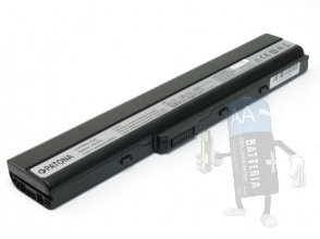 Batteria per Asus X52J | k52f | A52 | A32-K52, 2-Power