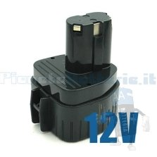 Batteria per MAKITA  1200 1201 1202 8411D 8412D 12V / 2000mAh / Ni-Cd