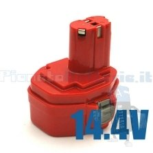 Batteria per MAKITA  1420 1422 1433 1434 1435 6333D 14,4V / 2000 mAh / Ni-Cd