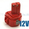 Batteria per MAKITA   192696-2, 192698-A, 193138-9, 193157-5  12 Volt / 1500mAh / Ni-Cd