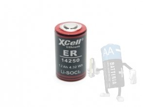 Batterie 1/2 AA Litio 3.6V