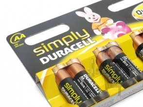 Batterie  AA Duracell MN 1500 Simply - 8 Pezzi
