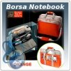 Borsa Notebook SUMDEX Nylon arancione