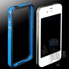 Bumper iphone 4 | 4S col. Nero/Blu