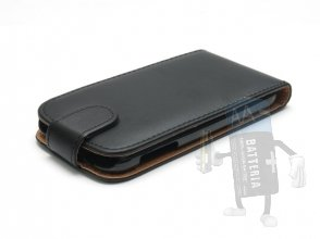 Custodia Samsung Galaxy S4/­i9500, Cover Flip, Nero