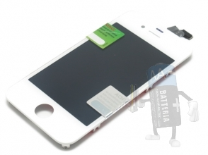 Full set LCD iphone 4S, High Quality, kit completo colore bianco