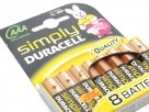 Batterie  AA Duracell MN 2400 Simply - 8 Pezzi